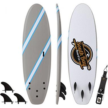 South Bay Board Co. 6' Guppy Soft Top Beginner Surfboard