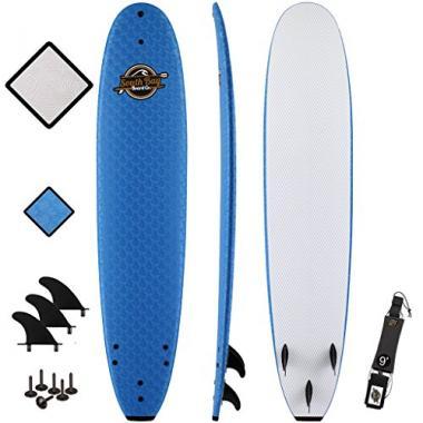 South Bay Board Co. 8'8 Heritage Foam Beginner Surfboard