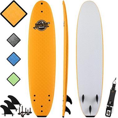 8' Verve Foam Beginner Surfboard