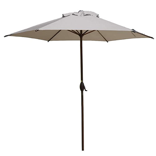 Abba Patio Market Aluminum Pool Umbrella