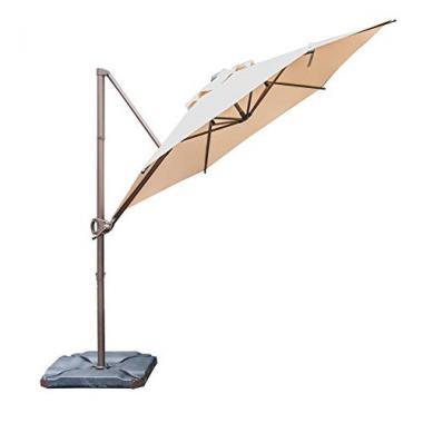 Abba Patio Offset Cantilever 11ft Pool Umbrella