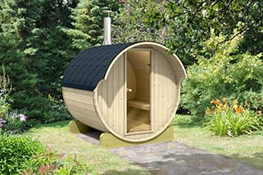 Allwood Wood Burning Barrel Sauna