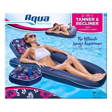 Aqua Ultimate Recliner and Pool Lounge Float