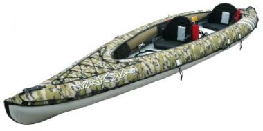 BIC Yakkair 2Hp Tandem Inflatable Fishing Kayak