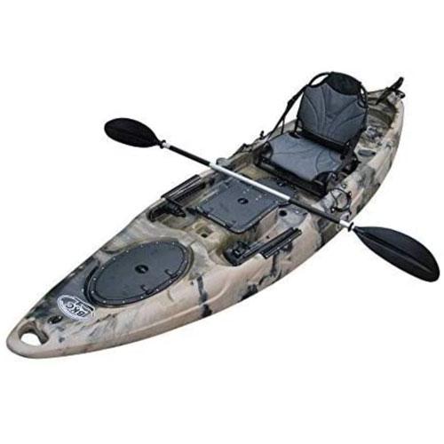 BKC UH-RA220 11.5 Foot Riptide Fishing Kayak