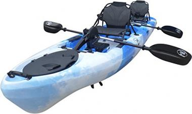 BKC UH-PK14 14 Foot Fishing Kayak With Pedals