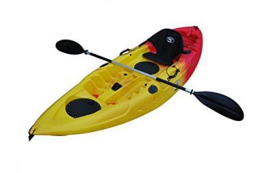 BKC UH-FK184 9′ Sit on Top Single Fishing Kayak