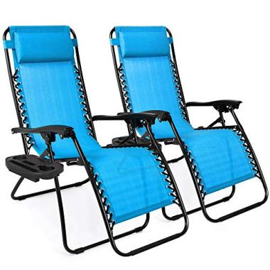Best Choice Products Zero Gravity Pool Lounge Chairs