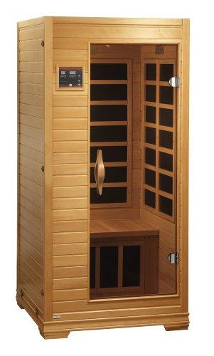 1 Person Infrared Sauna with ChromoTherapy Lighting by Better Life