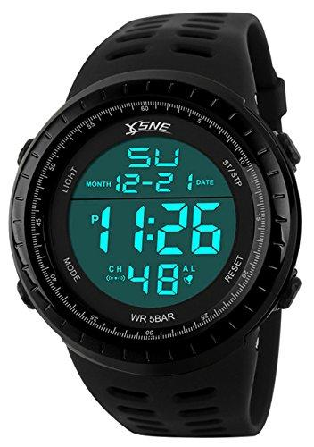 SNE Digital Sports Waterproof Watch