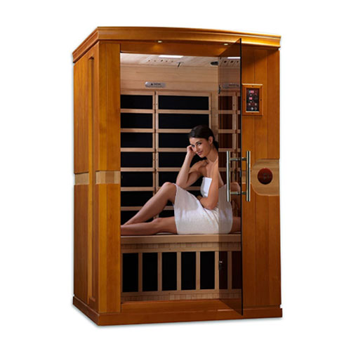 Dynamic Saunas Venice 2 Person Infrared Sauna
