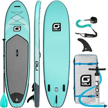 GILI Air Inflatable Stand Up Paddle Board Package