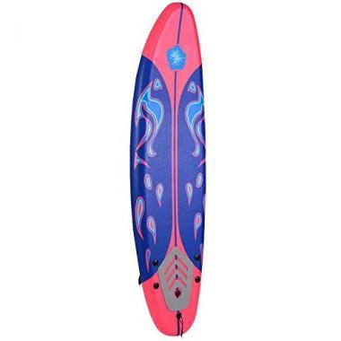 Giantex 6′ Foamie Beginner Surfboard