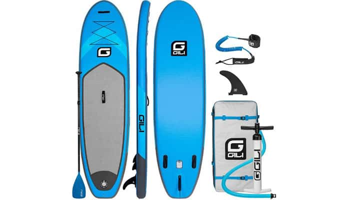 Gili 10'6 Air Inflatable SUP Review