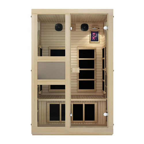 JNH Lifestyles NE2HB1 2 Person Infrared Sauna