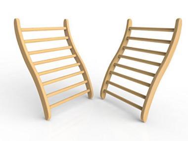 Ergonomic S-Shape Backrests by JNH Lifestyles