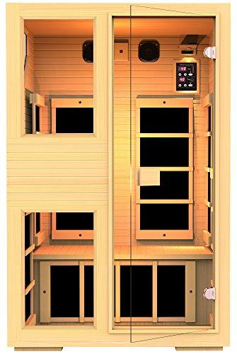 JNH Lifestyles Collection 2 Person Infrared Sauna