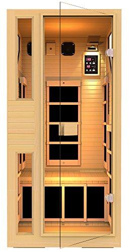 ENSI Collection 1 Person Sauna by JNH Lifestyles
