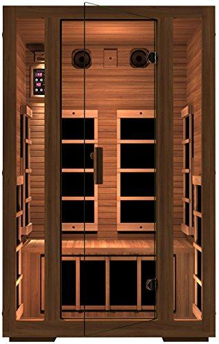 JNH Lifestyles Red Cedar 2 Person Infrared Sauna