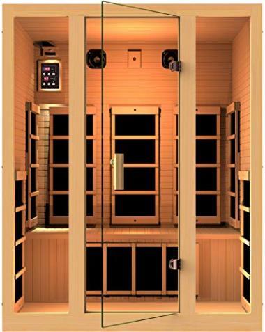 JNH Lifestyles Joyous 3 Person Infrared Sauna