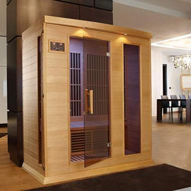 YNAMIC SAUNAS Maxxus 3 Person Infrared Sauna