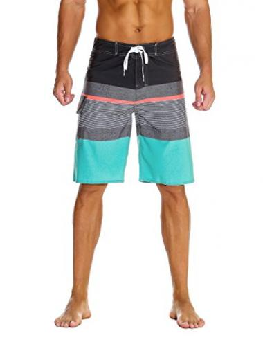 Nonwe Men's Sportwear Quick Dry Board Short