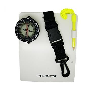 Palantic Compass and Pencil, 2 Writing Dive Slate