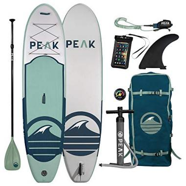 Peak 10'6″ Inflatable Stand Up All Around Paddle Board