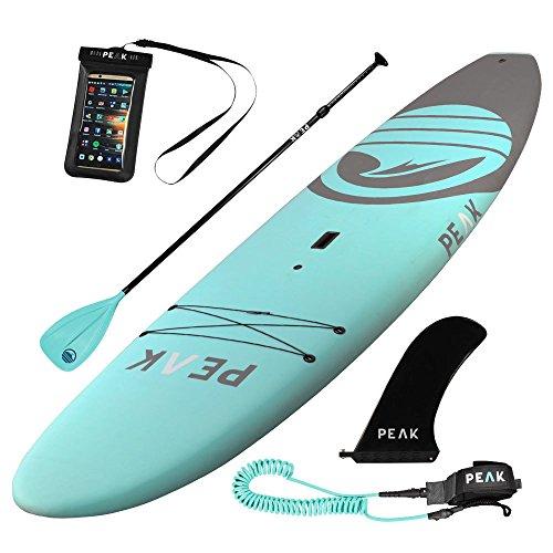 Peak Escape Rigid Soft Top Paddle Board