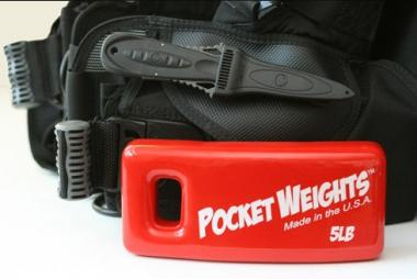 Pocket Weights BCD Scuba Diving Weight