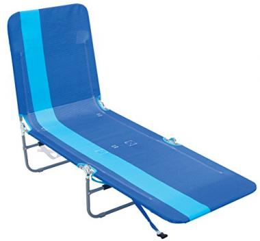 Rio Beach Portable Folding Backpack Pool Lounge Chair
