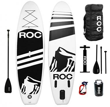 Roc Inflatable Stand Up All Around Paddle Board
