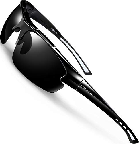 SIPLION Men's Polarized Sport Sunglasses