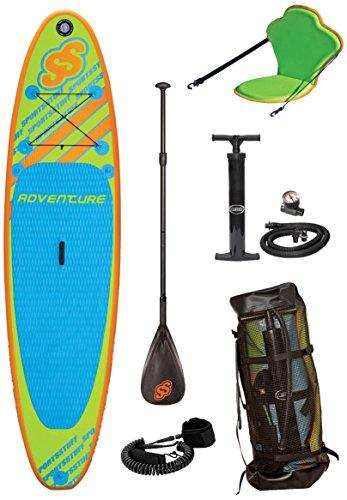 Sportstuff Adventure Stand Up All Around Paddle Board