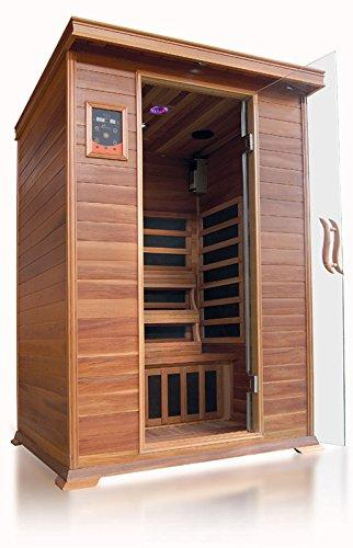 Sierra 2 Person Infrared Sauna by Sunray