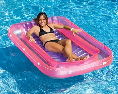 Swimline Suntan Tub Pool Lounge Float