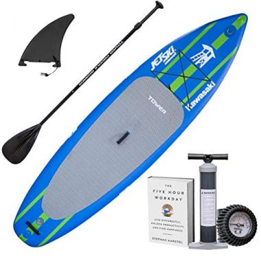 "Tower Inflatable 10'4"" Stand Up All Around Paddle Board"