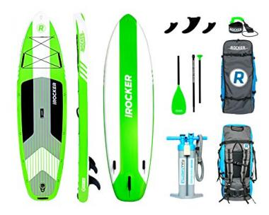"""iROCKER Cruiser Inflatable Stand Up Paddle Board 10' 6"""""""