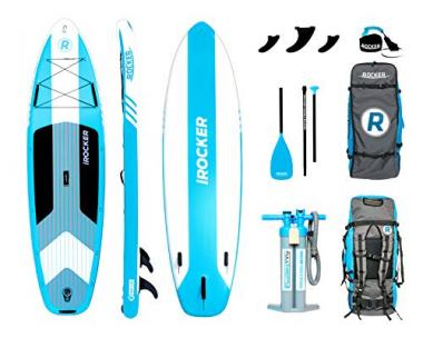 iROCKER Cruiser Inflatable Paddle Board