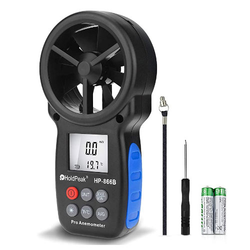 HOLDPEAK Handheld Wind Anemometer