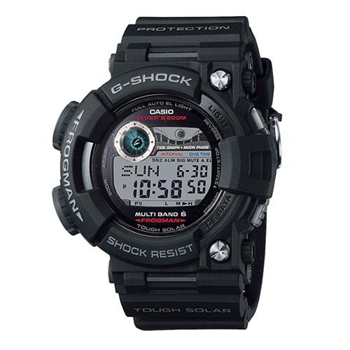 Casio G-Shock Digital Dial Resin Quartz Dive Watch