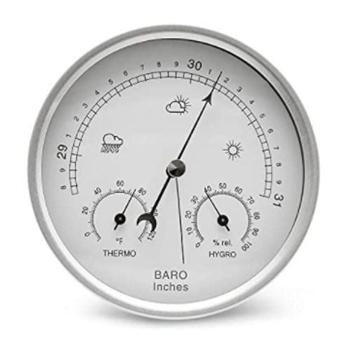 AMTAST Dial Type Aneroid Barometer