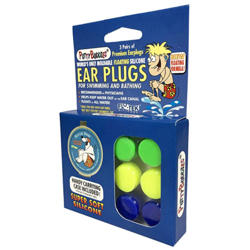 Putty Buddies Floating Silicone Earplugs