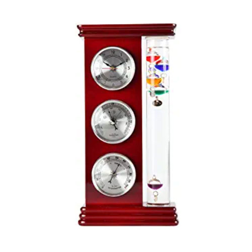 Lily's Home Analog Weather Station Barometer