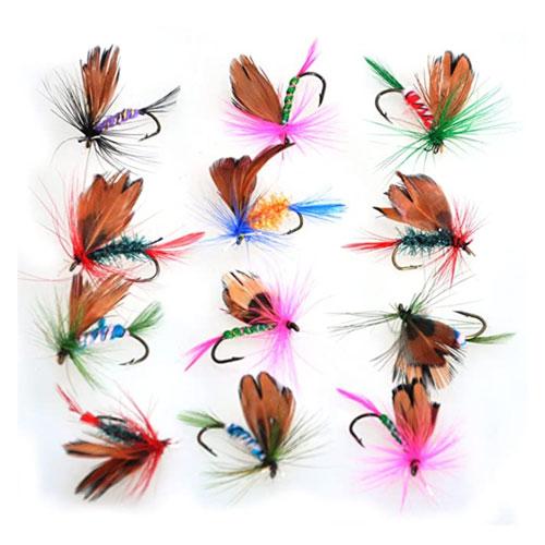 Piscifun Dry Trout Flies