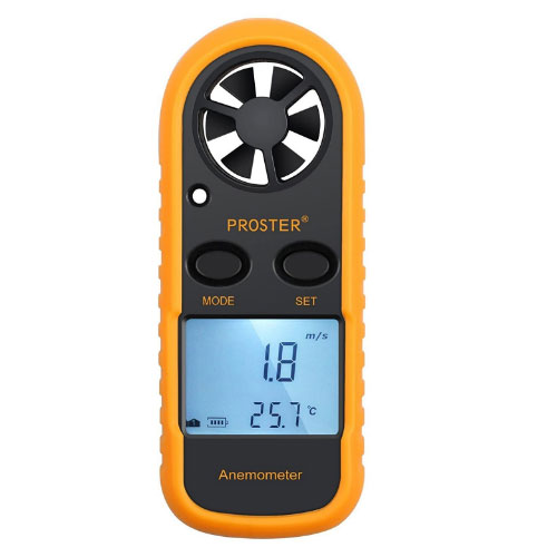 Proster Wind Speed Gauge Anemometer