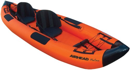 Airhead Montana Sit-Inside Tandem Inflatable Kayak
