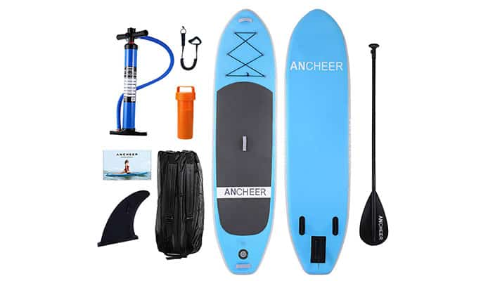 Ancheer Inflatable Paddle Board 10' Review