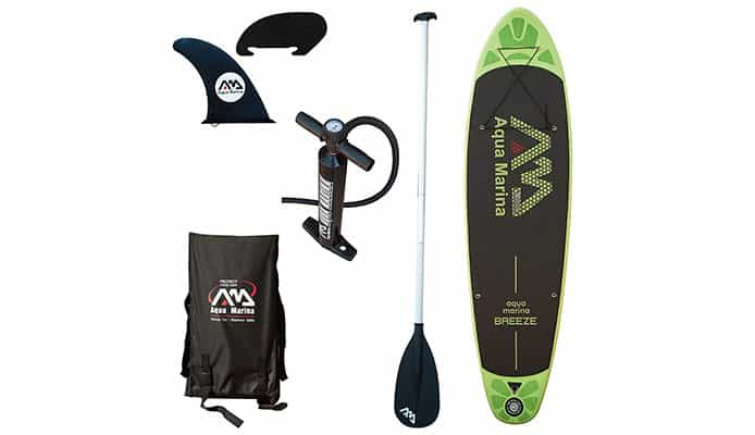 Aqua Marina Breeze Paddleboard Review