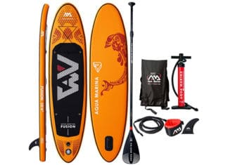 "Aqua_Marina_Fusion_10'4""_Paddleboard_Review"